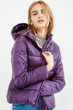 Down jacket with double pocket, Royal Purple, hi-res