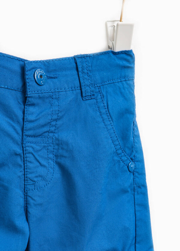Bermuda shorts with turn-ups and pockets | OVS