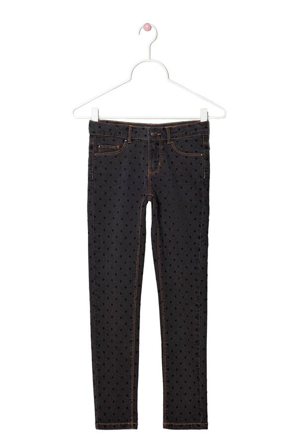 Jeans stretch skinny a pois | OVS