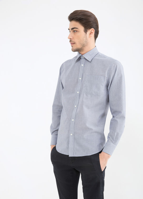 Camicia tinta unita regular fit | OVS