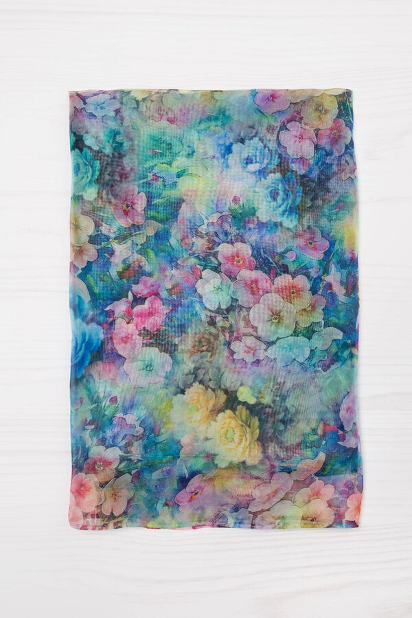 Scarf with floral pattern | OVS