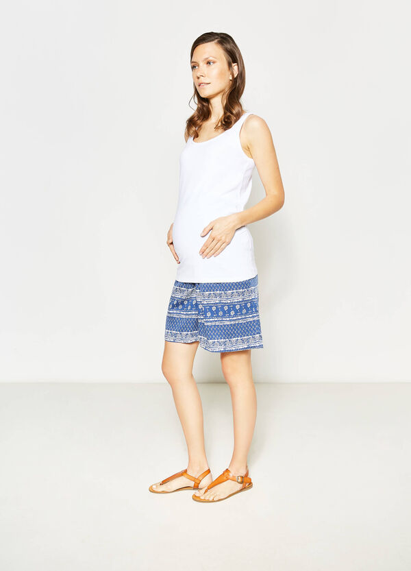 Shorts in viscosa fantasia MUM | OVS