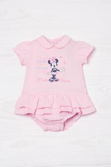 Minnie Mouse 100% cotton bodysuit, Pink, hi-res