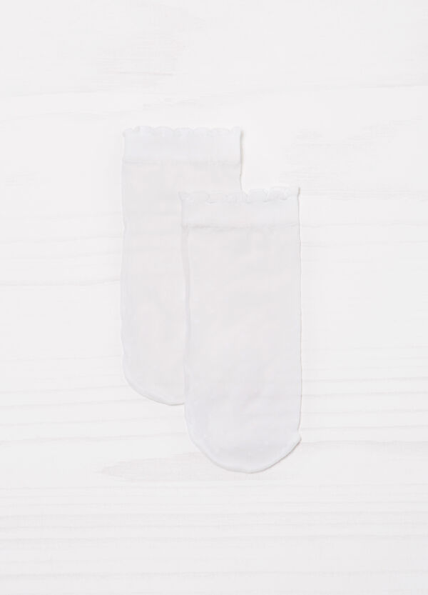Gambaletti corti stretch tinta unita | OVS
