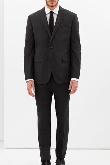 Elegant striped suit with regular fit