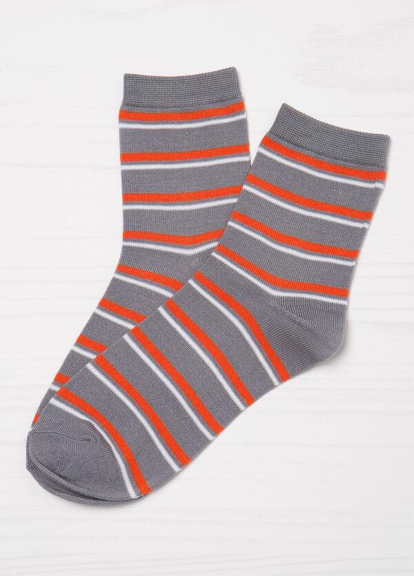 Set due paia di calze corte cotone | OVS