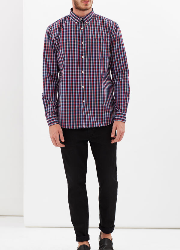 Tartan shirt with pocket | OVS