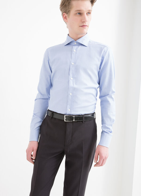 Slim-fit cotton shirt | OVS