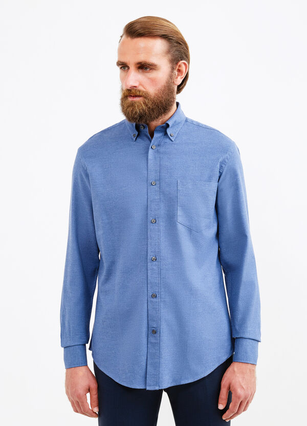 Formal shirt with button-down collar | OVS