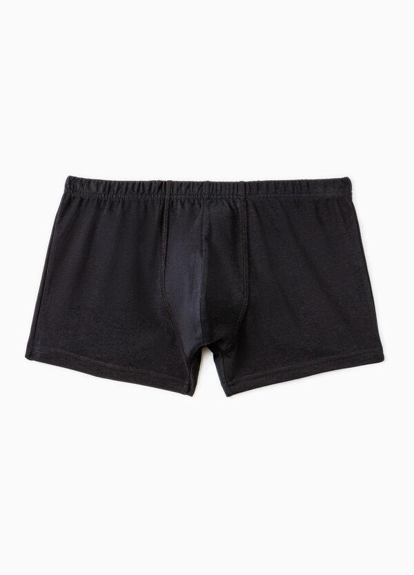 Boxer cotone con vita elasticata | OVS
