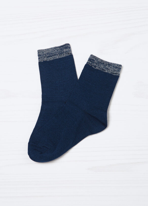 Three-pair pack cotton blend socks | OVS