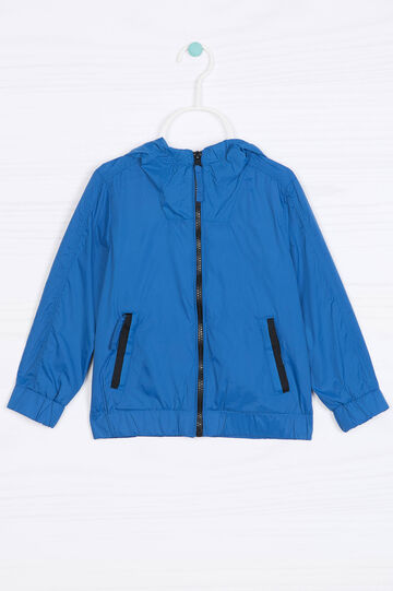 Solid colour windbreaker