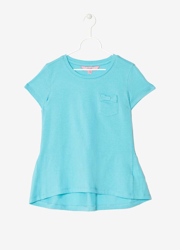 Maglietta con taschino e fiocchetto | OVS