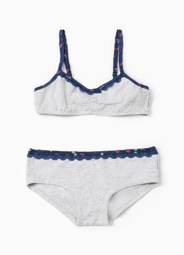 Stretch cotton underwear set   OVS