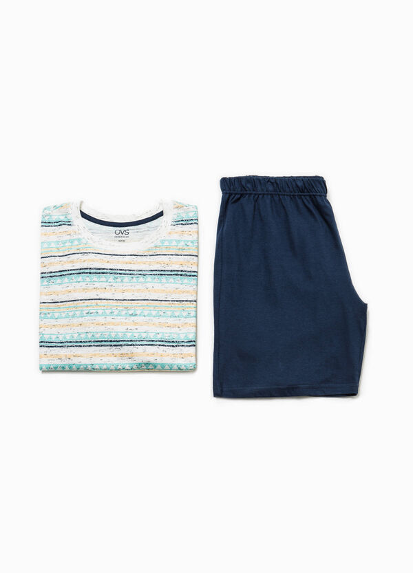 Pyjamas with striped top | OVS