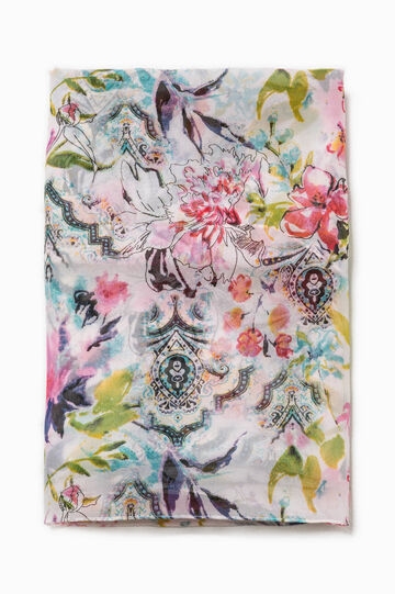 Scarf with all-over print