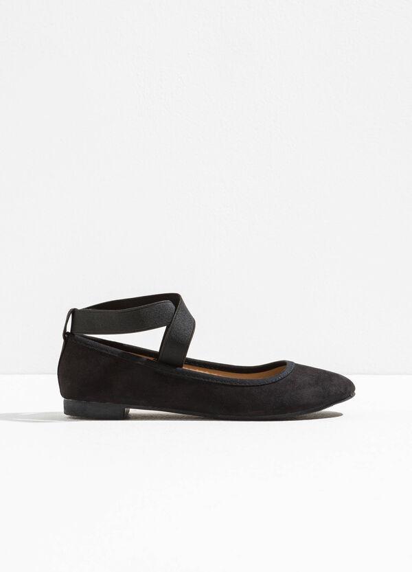 Suede-look ballerina flats | OVS