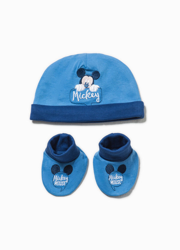 Mickey Mouse beanie hat and shoes set | OVS