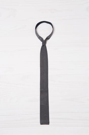 Cravatta pura seta Rumford, Blu, hi-res