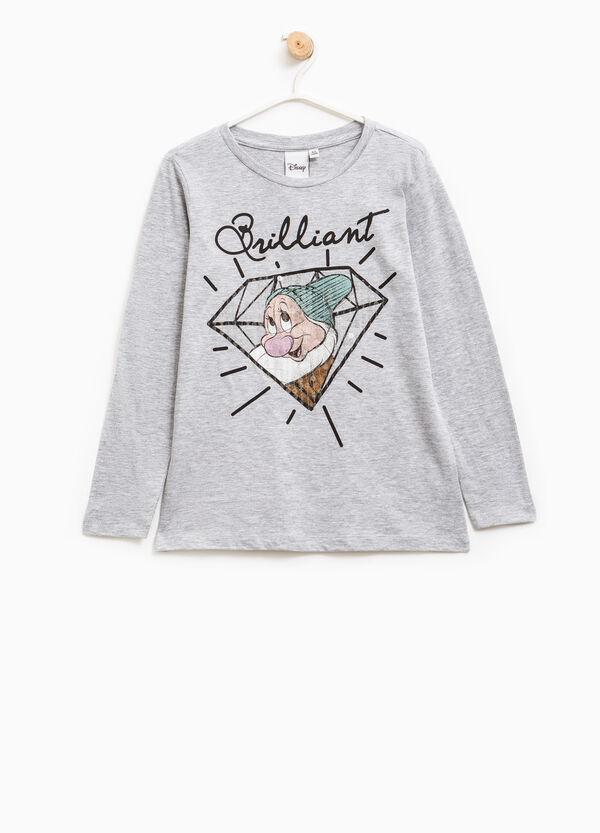 T-shirt cotone stampa I Sette Nani | OVS
