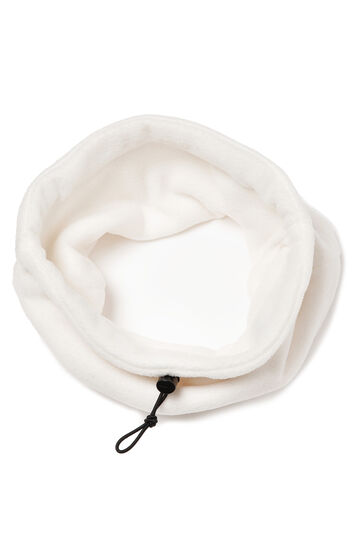 Loop scarf with drawstring, Milky White, hi-res