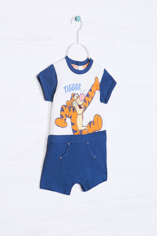 Patterned romper suit in 100% cotton | OVS
