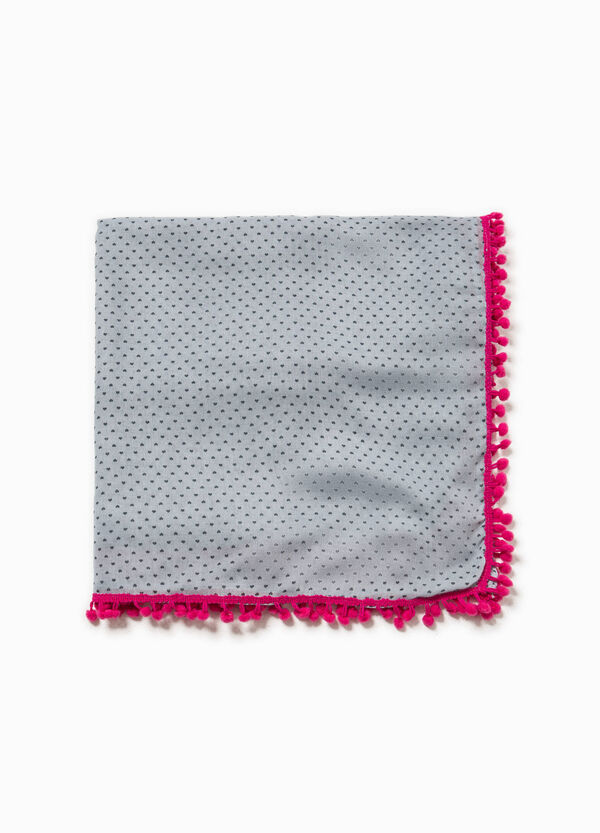 Pashmina in viscose with hearts | OVS