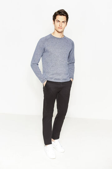 Chinos regular fit, Negro, hi-res