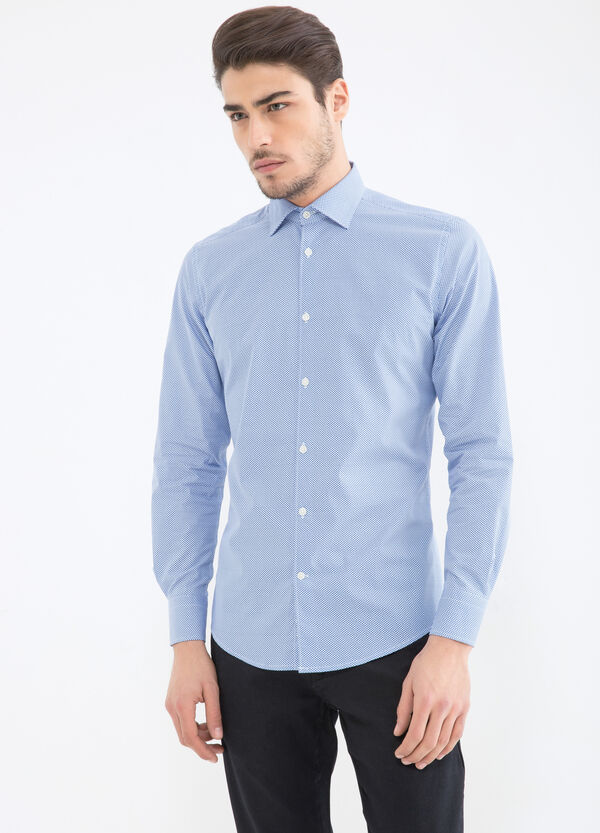 Slim-fit shirt with all-over print | OVS