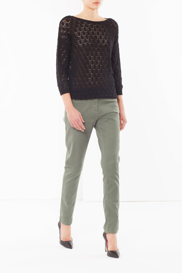 Embroidered trousers | OVS