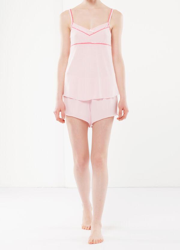 Lace trim pyjamas | OVS