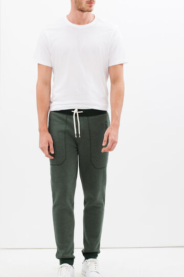Joggers with pockets, Sage Green, hi-res