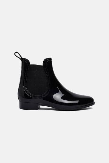 Rain boots in rubber, Black, hi-res