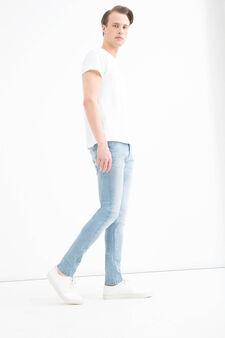 Jeans super skinny fit delavé, Denim, hi-res