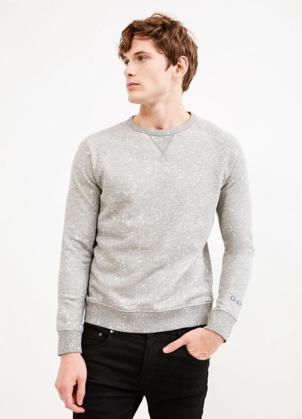 100% cotton G&H patterned sweatshirt | OVS