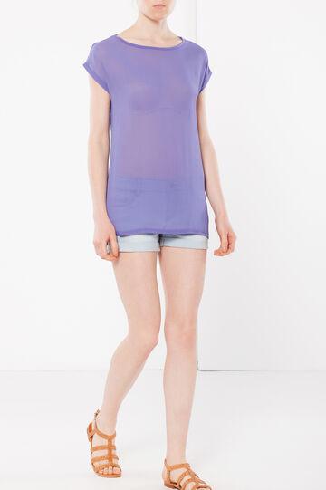 T-shirt trasparente, Viola chiaro, hi-res