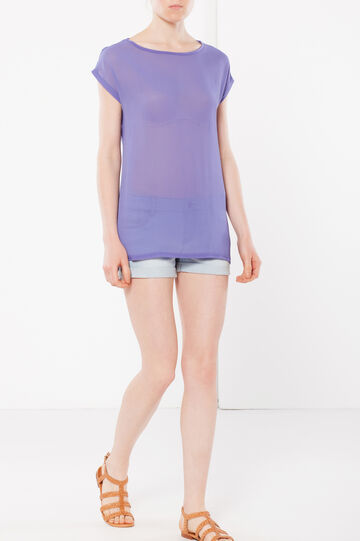 Transparent T-shirt, Light Purple, hi-res