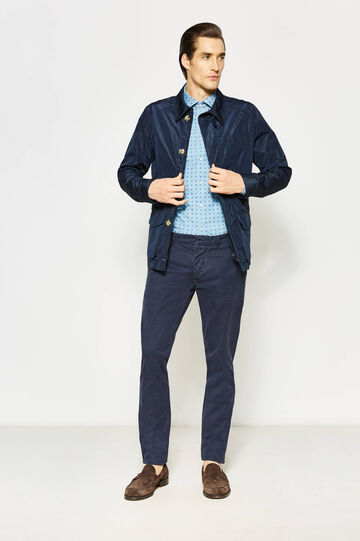 Rumford jacket with bluff collar, Navy Blue, hi-res