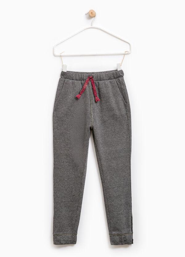 Pantaloni cotone zip alla caviglia | OVS