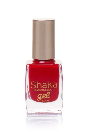 Gel look nail polish, Radish Red, hi-res