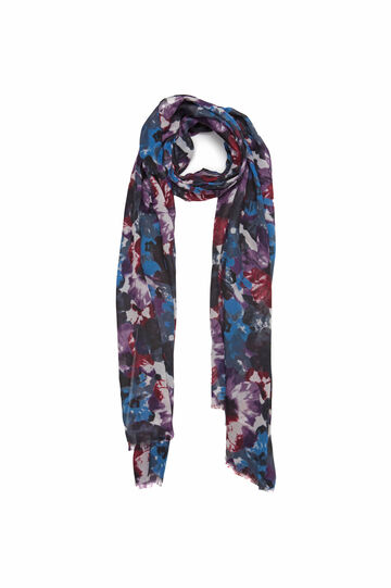 Patterned scarf, Multicolour, hi-res