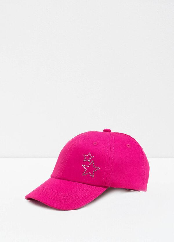 Baseball cap with diamantés | OVS