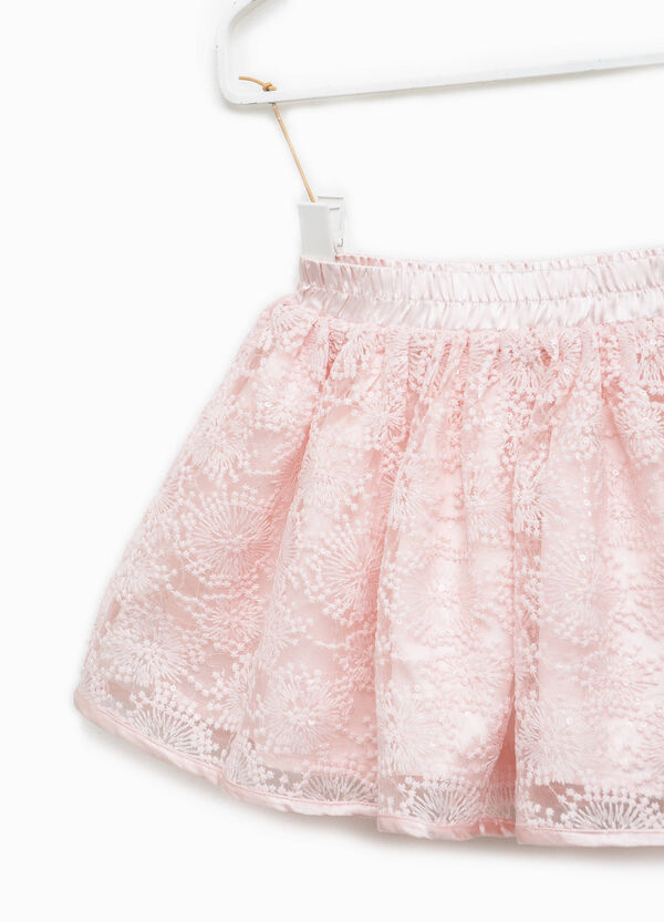 Lace skirt with sequins | OVS