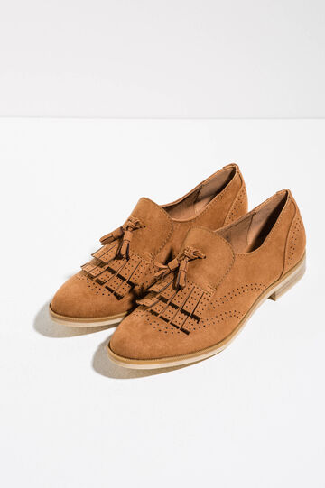 Brogues with tassels, Light Brown, hi-res
