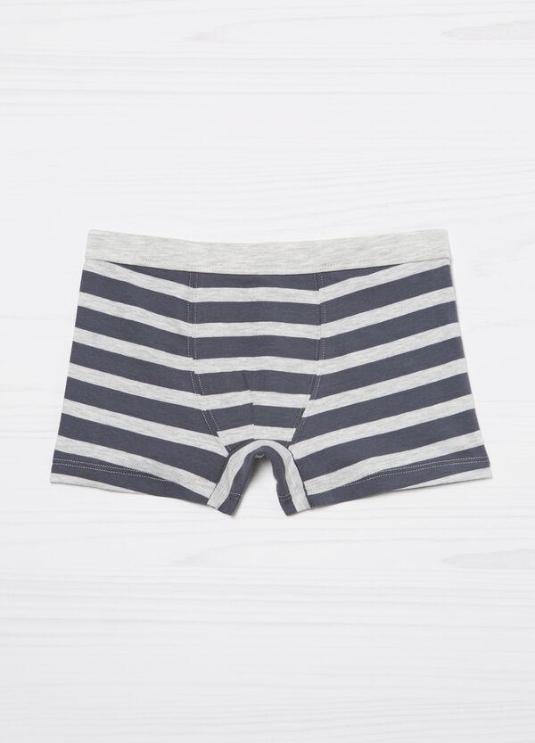 Striped boxers in stretch cotton | OVS