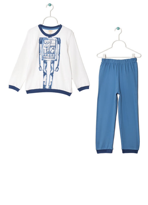 Full-length, 100% cotton pyjamas. | OVS