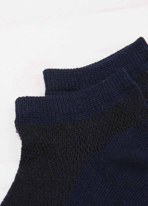 Solid colour stretch socks | OVS