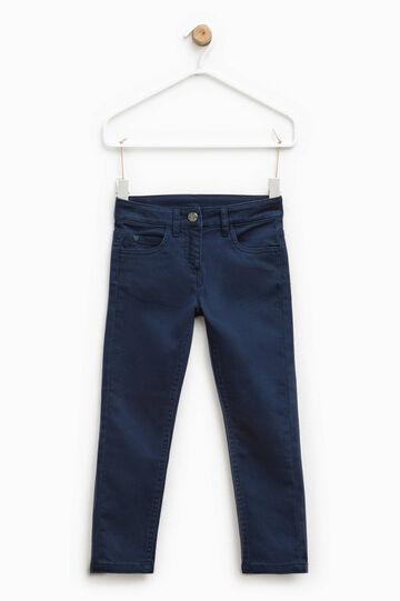 Pantalón de algodón elástico