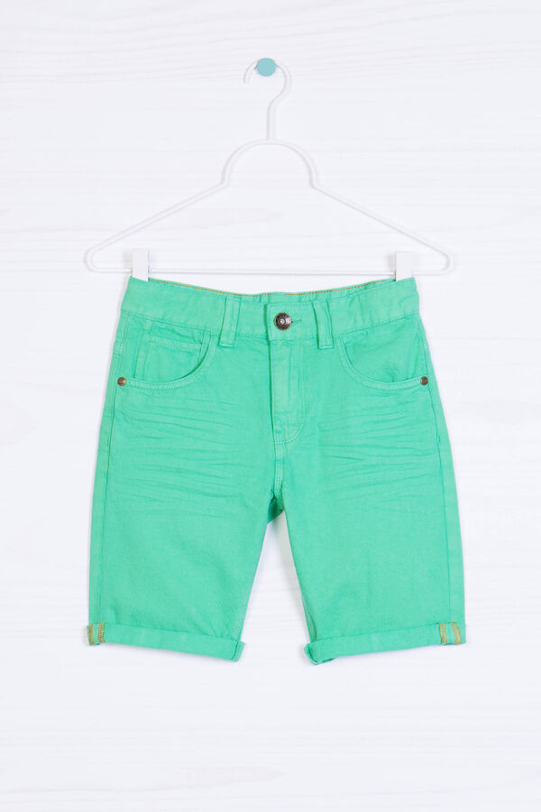 Worn-effect denim shorts | OVS