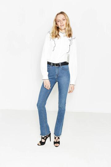 Bootcut stretch fit jeans, Denim, hi-res